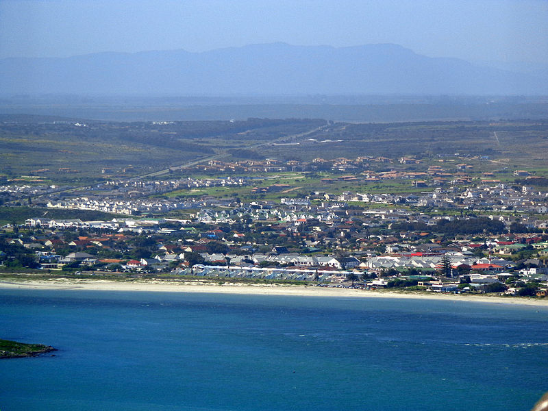 Langebaan as viewed from Postberg, West Coast National Park
